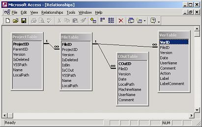 WinDeveloper VSS Data Export